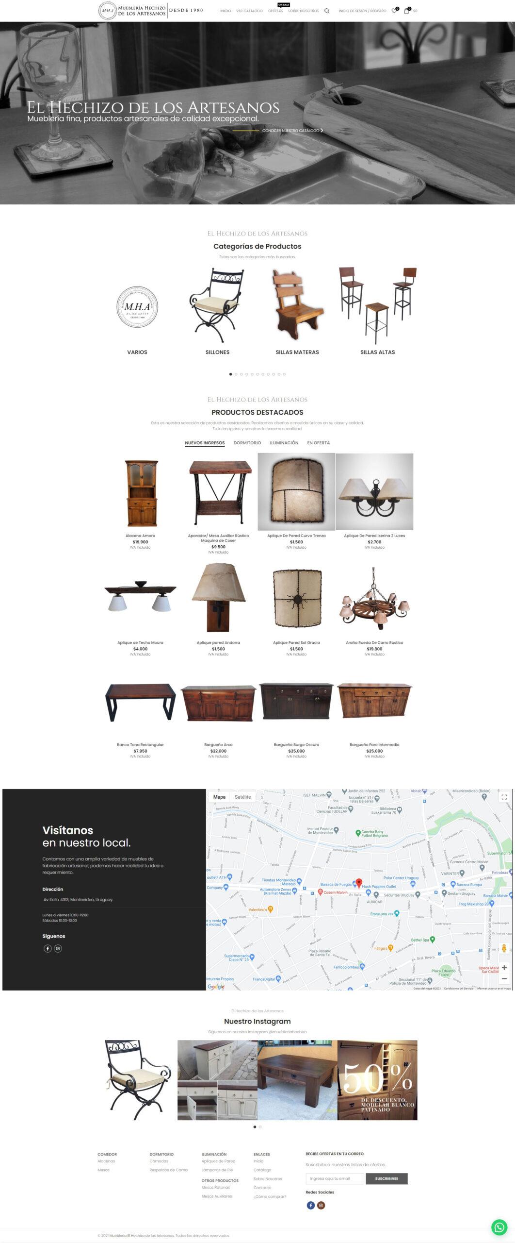 Tiendas Online, eCommerce